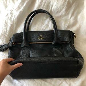 Kate Spade Leslie foldover hand bag